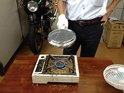 珈琲豆の煎り方-7